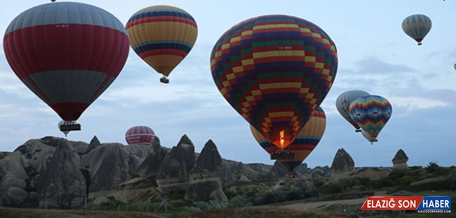 Kapadokya'ya Gelen Turist Sayısında Büyük Artış