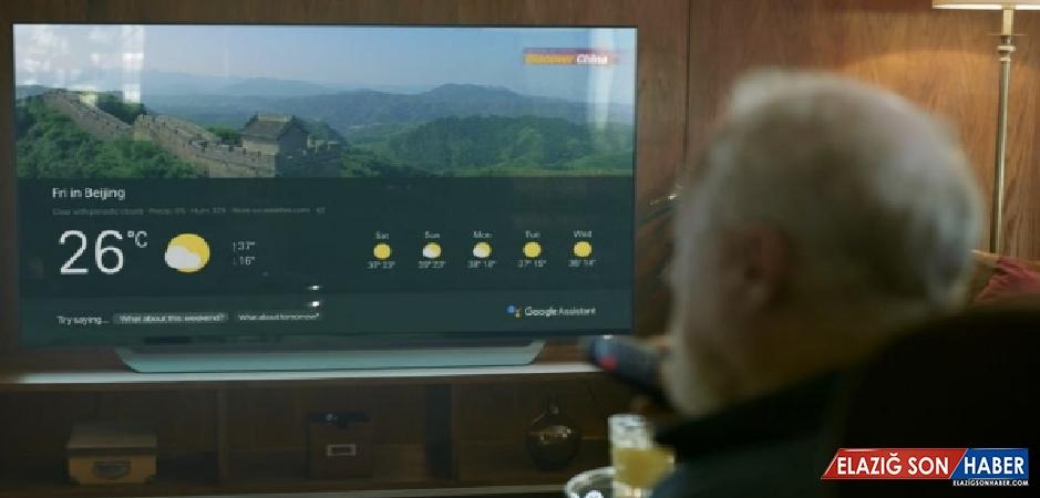 LG TV'lere Google Asistan Geliyor