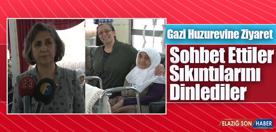 MHP Kadın Kolları, Gazi Huzurevindeki Yaşlılarla Bir Araya Geldi