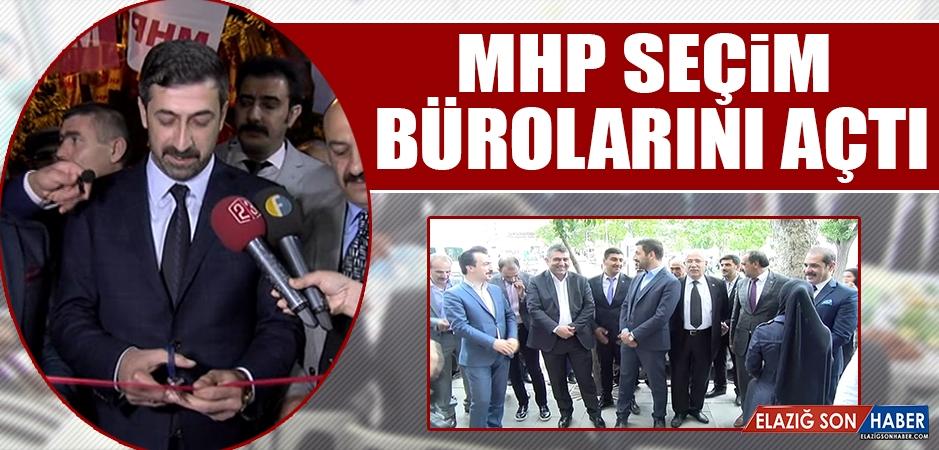 MHP Seçim Bürolarını Açtı