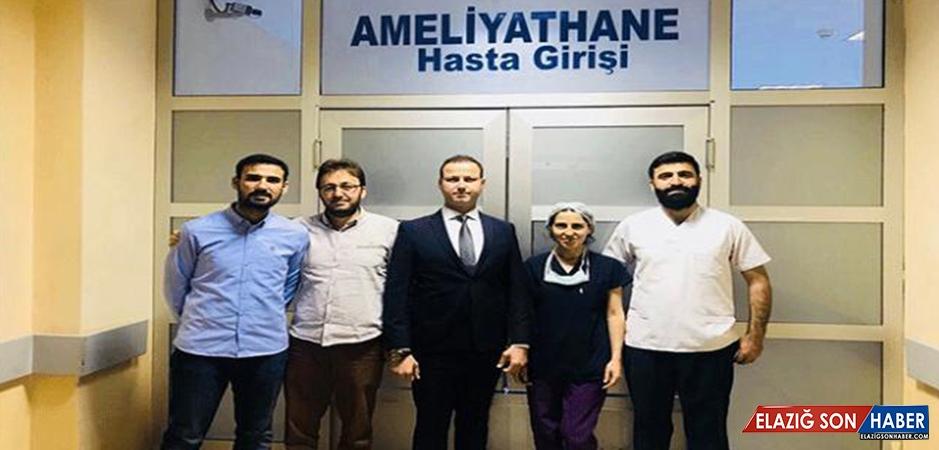 Midyat Devlet Hastanesi'nde İlk Kez Kornea Nakli Yapıldı