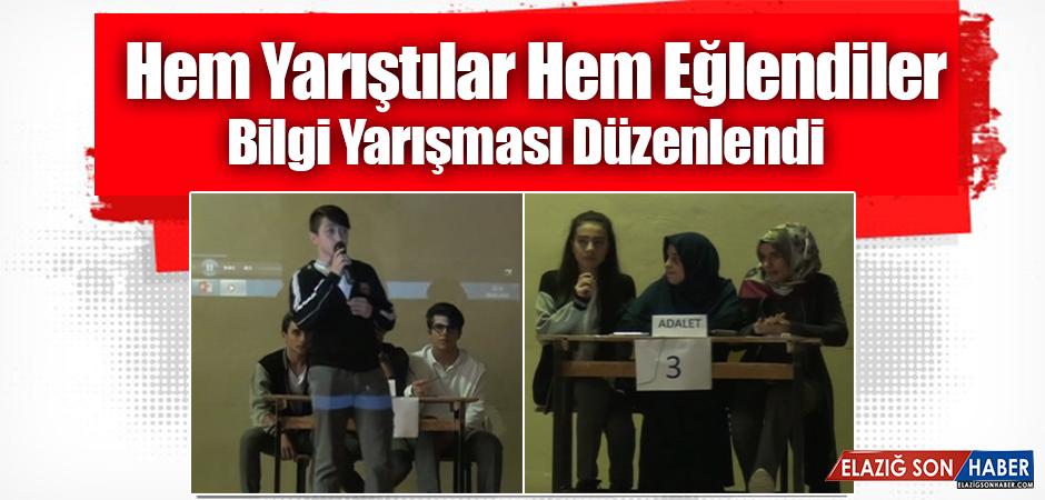 Murat Mesleki ve Teknik Anadolu Lisesi, Bilgi Yarışması Düzenledi