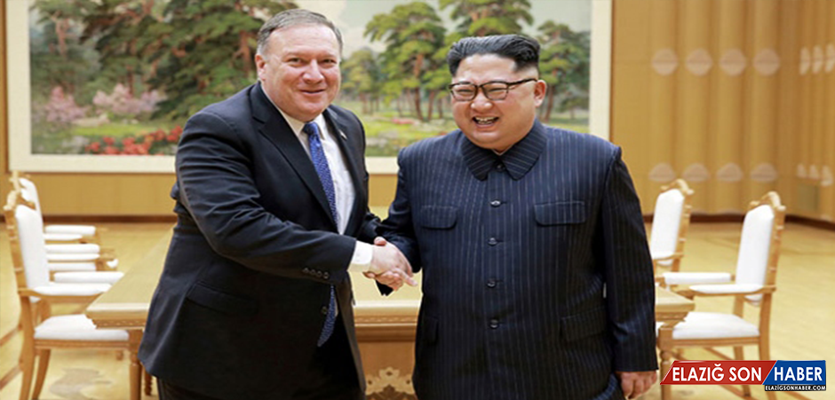 Pompeo'nun Kuzey Kore Ziyaretinin Fotoğrafları Yayınlandı