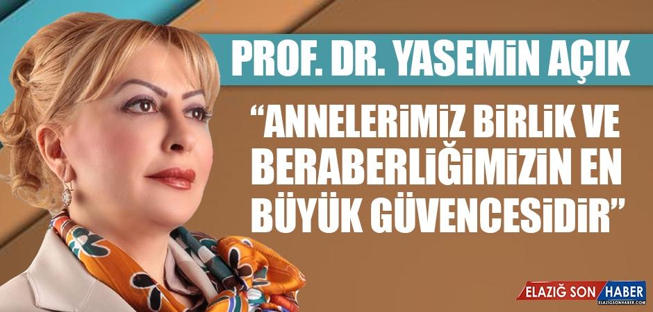Prof. Dr. Açık Anneler Günü Nedeniyle Mesaj Yayımladı