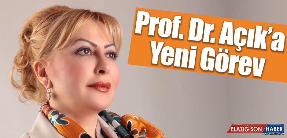 Prof. Dr. Yasemin Açık'a Yeni Görev