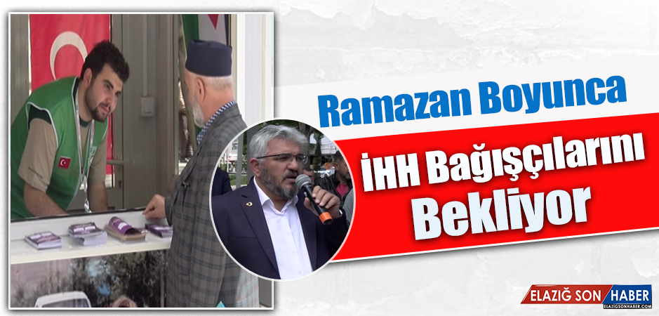 Ramazan Boyunca Yardımlar Toplanacak