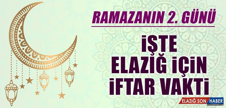 Ramazanın İkinci Gününde Elazığ'da İftar Vakti Kaçta?