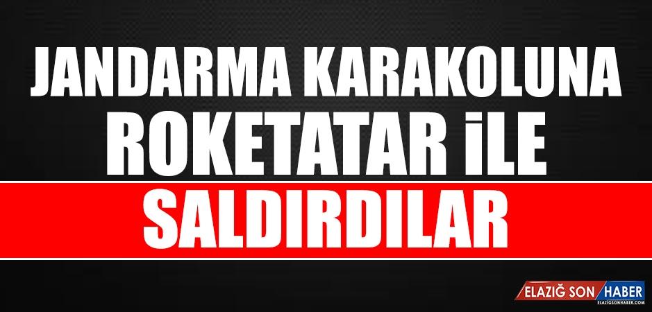 Şanlıurfa'da Jandarma Karakoluna Roketatarlı Saldırı