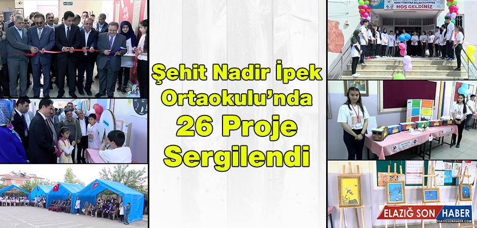 Şehit Nadir İpek Ortaokulu'nda TÜBİTAK 4006 Bilim Fuarı