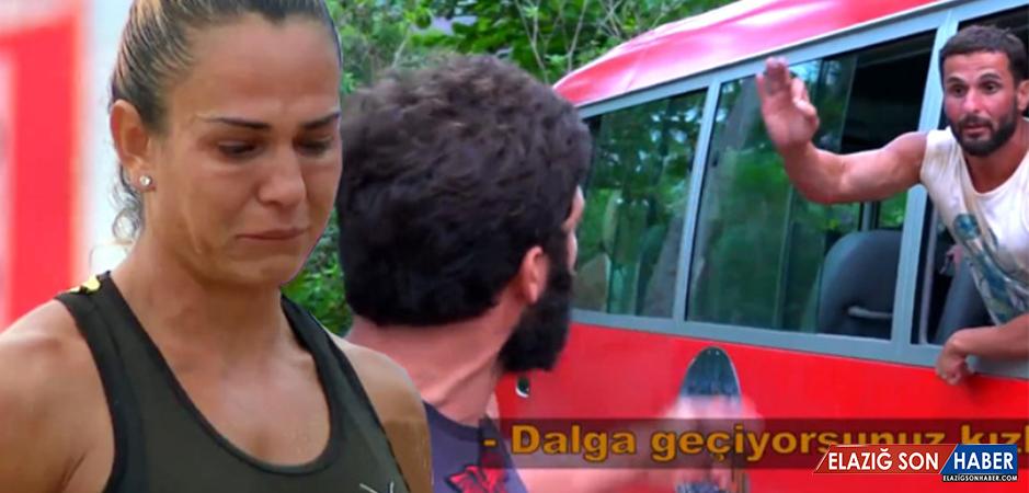 Survivor'da Nagihan'ı Ağlatan Kavga! Turabi Çılgına Döndü