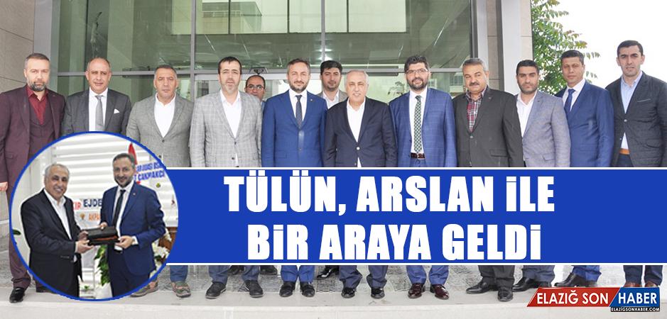 Tülün'den, Başkan Arslan 'Hayırlı Olsun' Ziyareti