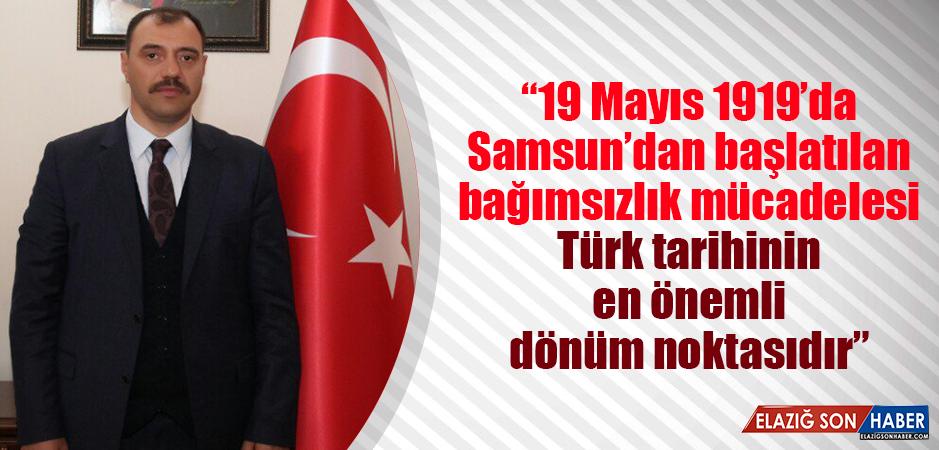 Vali Kaldırım, 19 Mayıs Atatürk'ü Anma Gençlik ve Spor Bayramını Kutladı