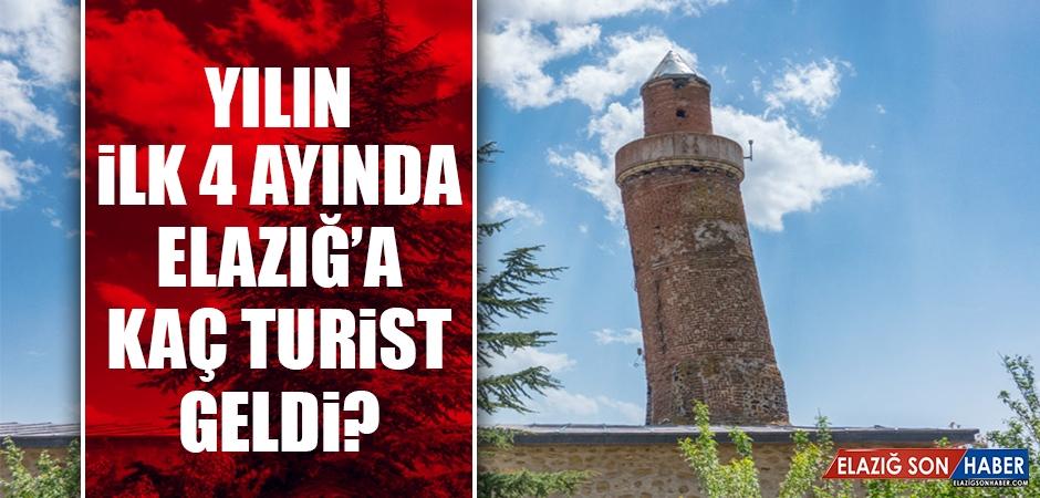 Vali Kaldırım, Elazığ'a Kaç Turist Geldiğini Açıkladı