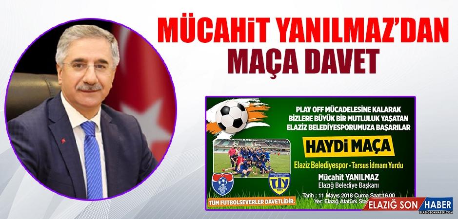 Yanılmaz, Futbolseverleri Belediyespor'a Destek Vermeye Davet Etti