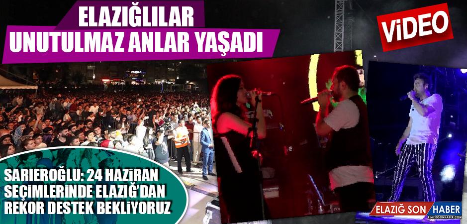 AK Parti Tarafından Düzenlenen Konser Yoğun İlgi Gördü