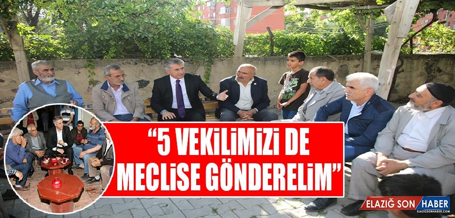 Başkan Yanılmaz'dan Karşıyaka ve Kızılay'a Ziyaret