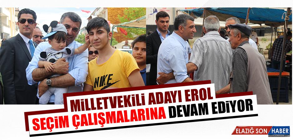 CHP Milletvekili Adayı Erol, Seçim Çalışmalarına Devam Ediyor
