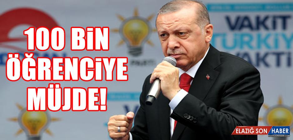 Cumhurbaşkanı Erdoğan'dan öğrencilere iş müjdesi