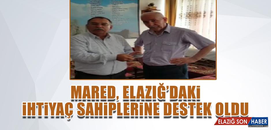 MARED, İSTANBUL'DAN ELAZIĞ'A KÖPRÜ OLMAYA DEVAM EDİYOR