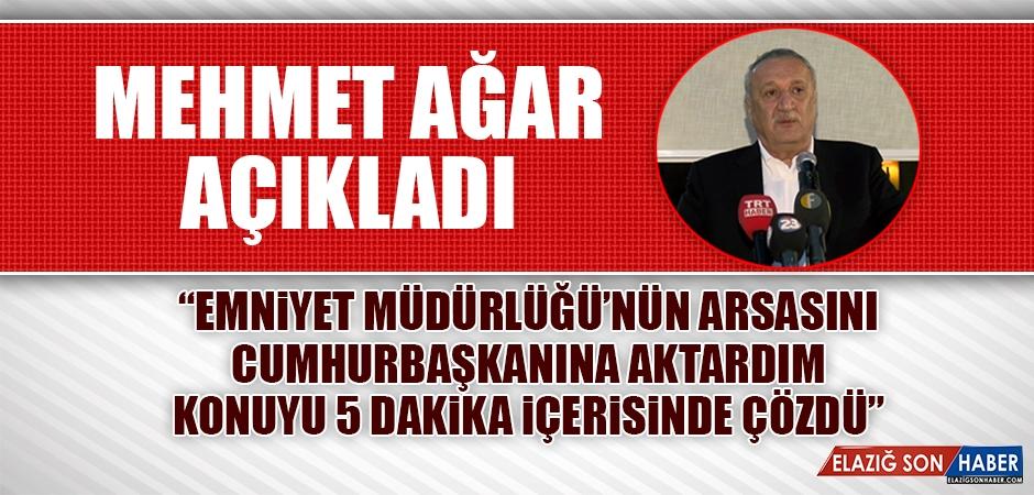 Mehmet Ağar, Cumhurbaşkanı Erdoğan'la Olan Konuşmasını Anlattı