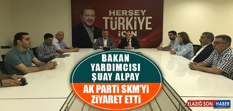 MSB Yardımcısı Şuay Alpay, AK Parti SKM'yi Ziyaret Etti