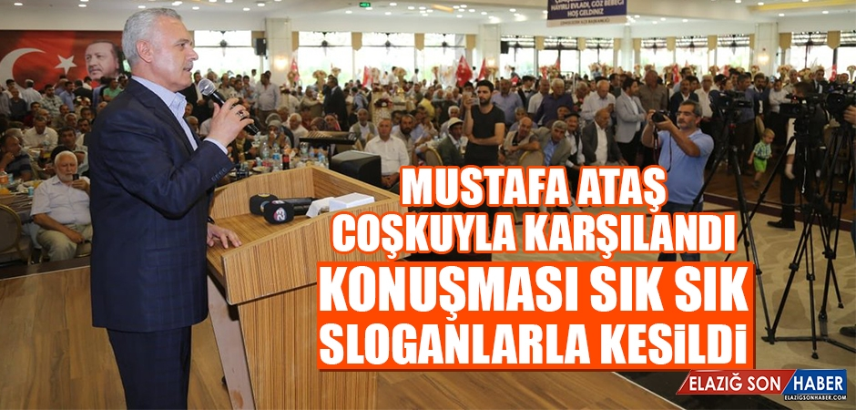 Mustafa Ataş Çemişgezeklilerle Buluştu