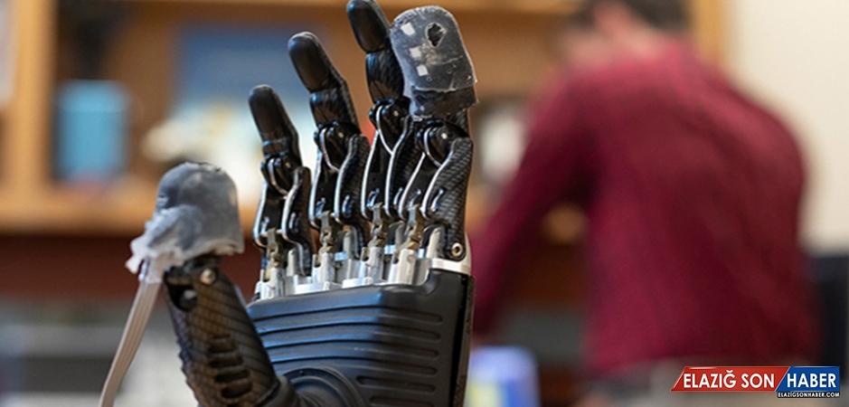 Protez Uzuvlarda Elektronik Deri Devrimi