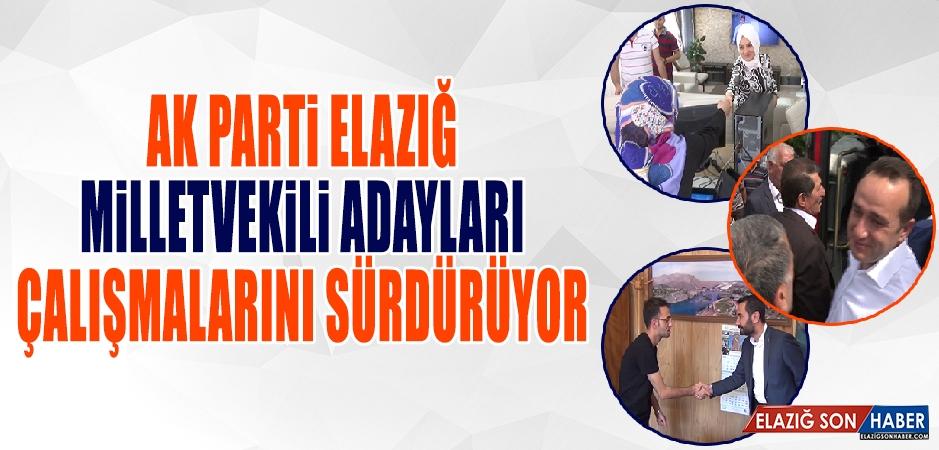 Seçime 10 Gün Kala AK Parti Adayları Çalışmalarını Sürdürüyor