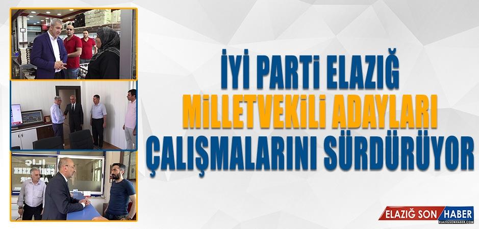 Seçime 10 Gün Kala İYİ Parti Milletvekili Adayları Çalışmalarını Sürdürüyor