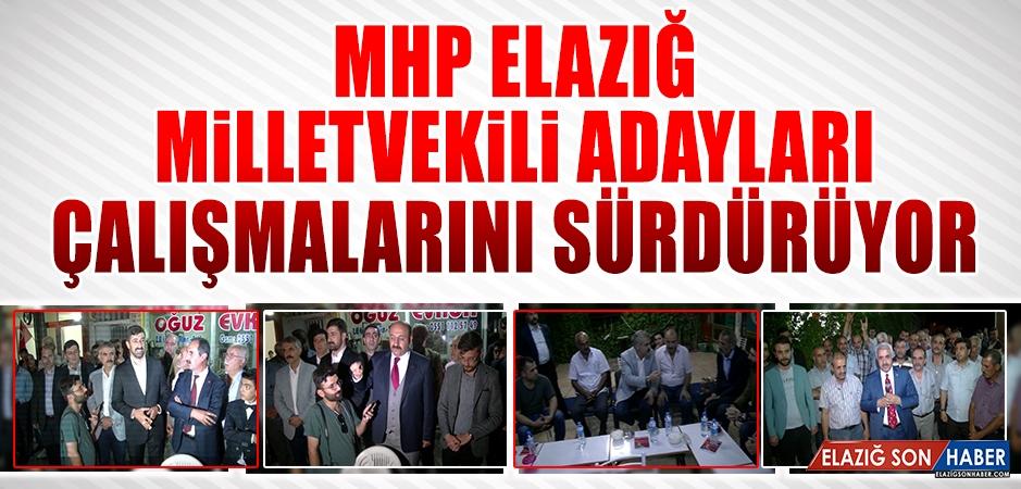 Seçime 10 Gün Kala MHP Adayları Çalışmalarını Sürdürüyor