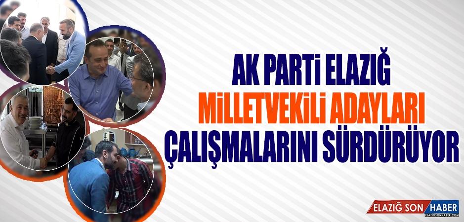 Seçime 12 Gün Kala AK Parti Adayları Çalışmalarını Sürdürüyor