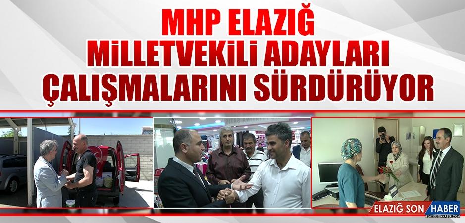 Seçime 12 Gün Kala MHP Adayları Çalışmalarını Sürdürüyor