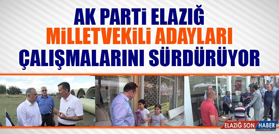 Seçime 5 Gün Kala AK Parti Adayları Çalışmalarını Sürdürüyor