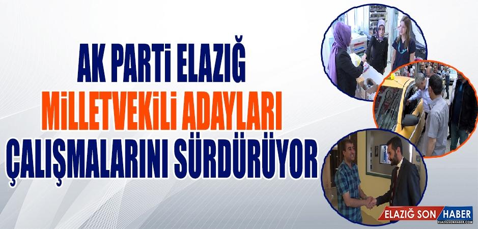 Seçime 9 Gün Kala AK Parti Adayları Çalışmalarını Sürdürüyor