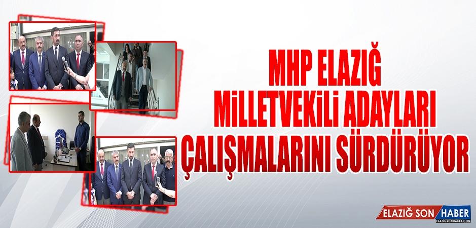 Seçime 9 Gün Kala MHP Adayları Çalışmalarını Sürdürüyor