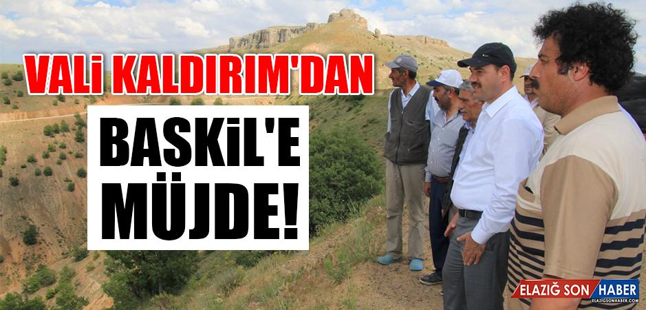 Vali Kaldırım'dan Baskil'e müjde!