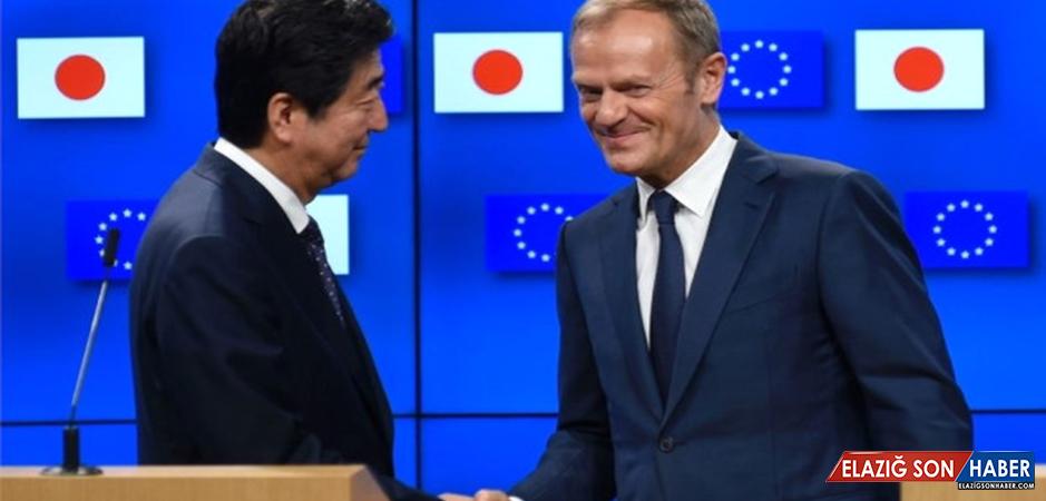AB ve Japonya Arasında Ticari Sınırlar Kalkıyor