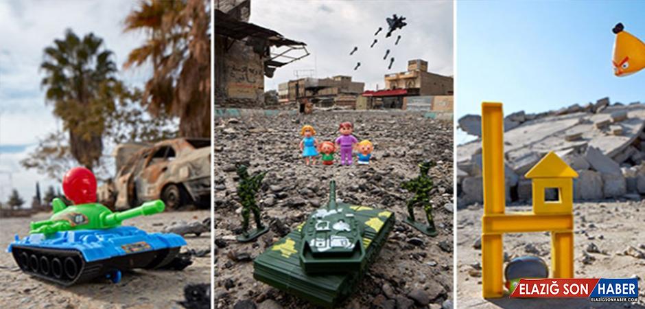 ABD'li Fotoğrafçı Savaşın Dehşetini Çocukların Gözünden Gösteriyor