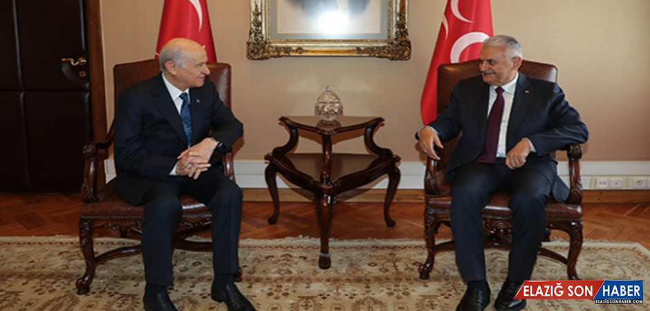 Başbakan Yıldırım, MHP Lideri Bahçeli İle Görüştü