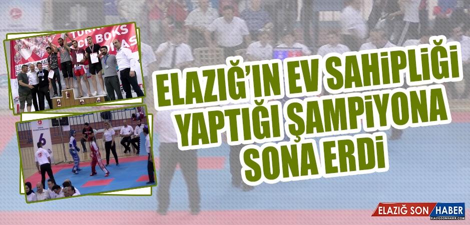 Elazığ'ın Ev Sahipliği Yaptığı Şampiyona Sona Erdi
