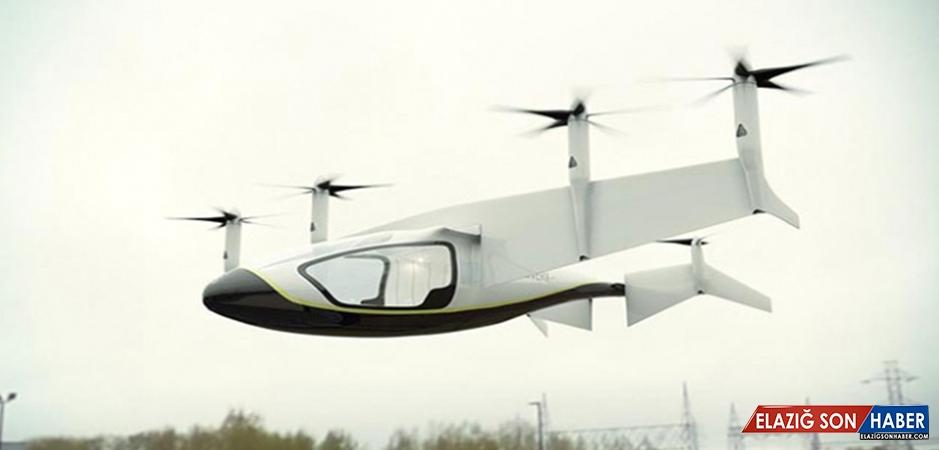 Lüks Uçan Taksiler 2020'de Göklerde Olacak