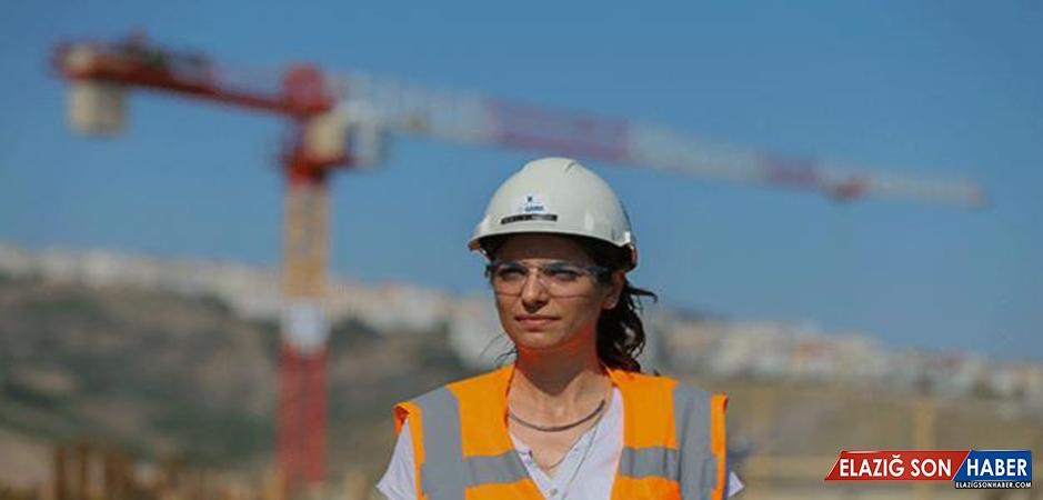 Türkiye'nin 3. Büyük Hastanesinin İnşaatına Kadın Eli Değdi