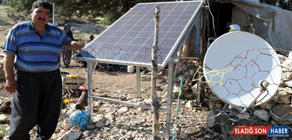 Yörükler Elektriği Güneş Enerjisinden Elde Ediyor
