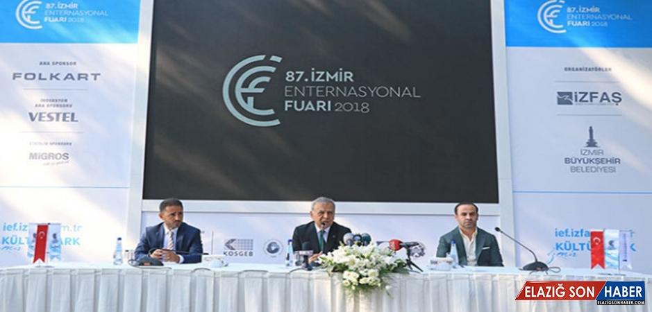 87. İzmir Enternasyonal Fuarı 7 Eylül'de Açılıyor