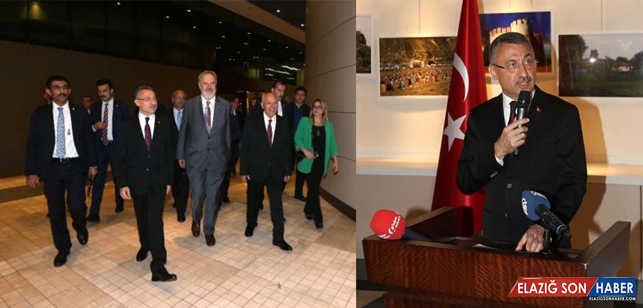 Fuat Oktay, Moldova-Türkiye Arası Kimlikle Seyahat Çalışmalarının Bittiğini Açıkladı