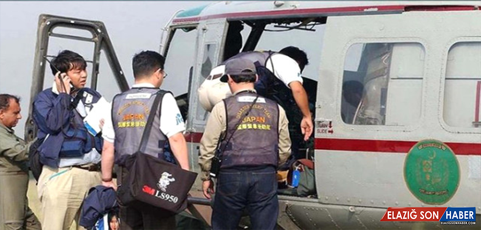 Japonya'da İrtibatın Kesildiği Helikopterde 9 Kişi Hayatını Kaybetti