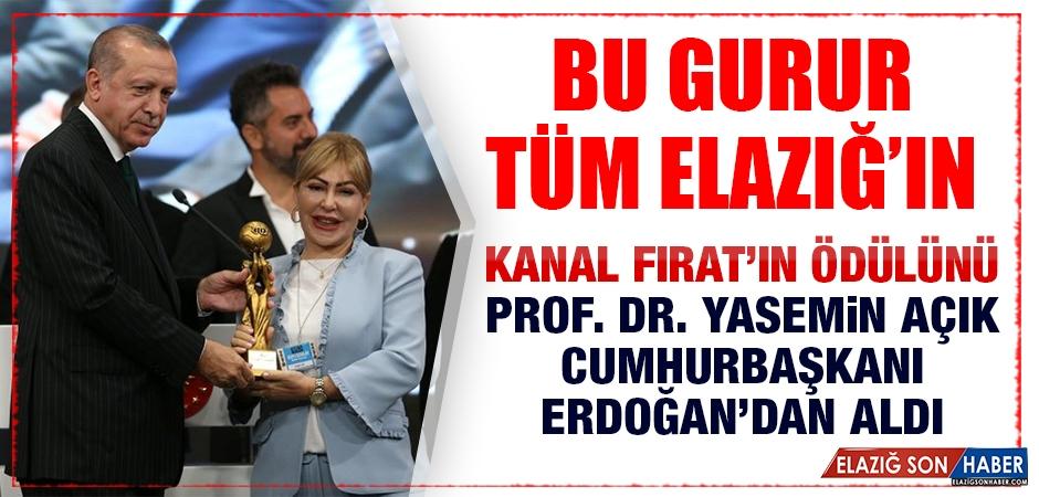 Kanal Fırat'a Türkiye'nin En İyi Yerel Kanalı Ödülü Verildi