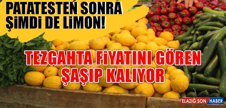 Patatesten sonra şimdi de limon!