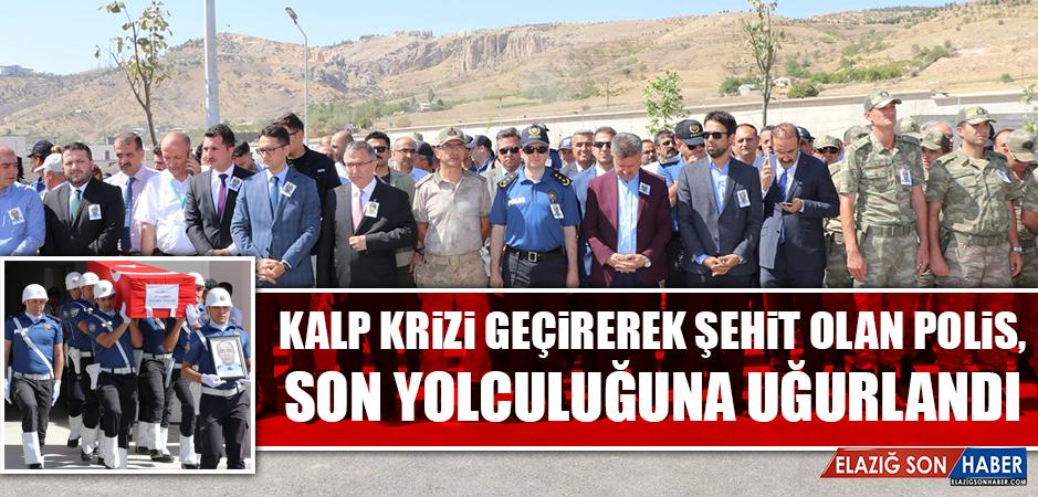 Şehit Olan Polis, Son Yolculuğuna Uğurlandı