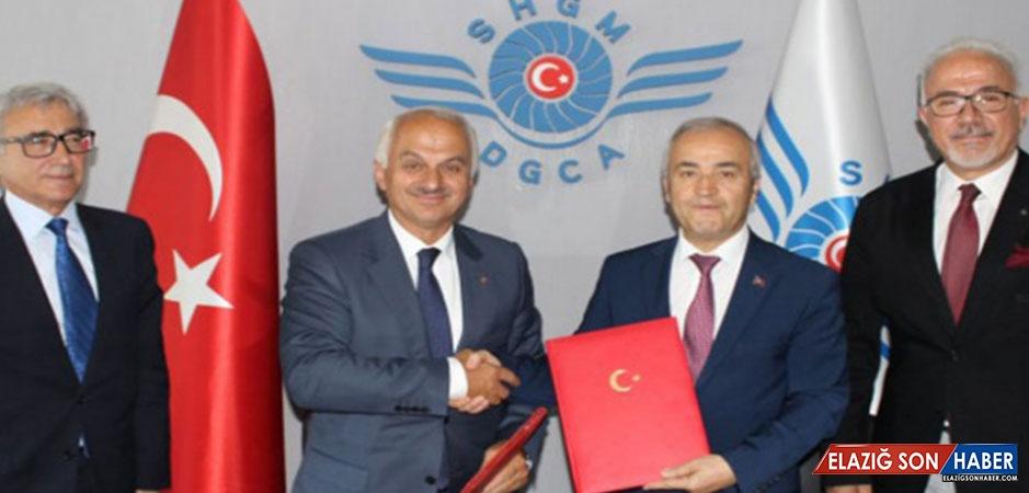 Sivil Havacılık Genel Müdürlüğü İle TUSAŞ Arasında Mutabakat Zaptı